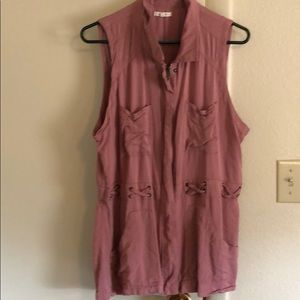 Maurices Mauve light weight vest